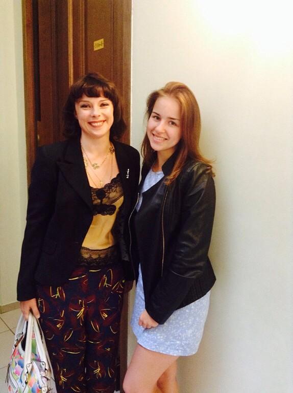 Екатерина Мечетина и Вероника