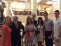 Члены жюри В.Овчинников и Д.Башкиров и коллеги из Саратова.